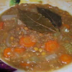 Pressure Cooker Lentil Soup recipe