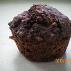 Low Fat Chocolate Oatmeal Muffins recipe
