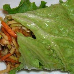 Hoisin Chicken Lettuce Wraps recipe