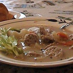 Potato Sausage Soup recipe