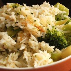 Cheesy Rice and Broccoli recipe