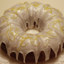 Blueberry Lemon Bundt Cake With Lemon Glaze recipe
