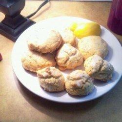 Iced Lemon Poppy Seed Cookies recipe