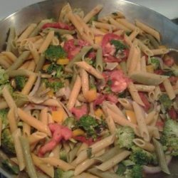 Penne Pasta with Vegetables recipe