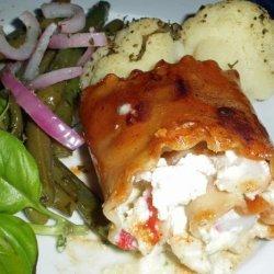 Seafood Lasagna Rollups recipe