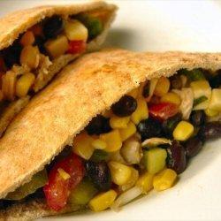 Black Bean Taco Salad With Lime Vinaigrette recipe