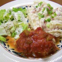 Salsa Chicken Bake recipe