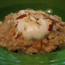 Apricot Almond Oatmeal recipe