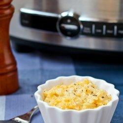 Cheesy Crock Pot Potatoes recipe