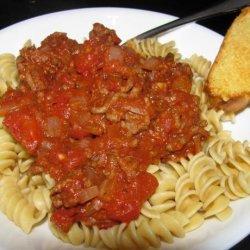 All Purpose Quick Spaghetti Sauce recipe