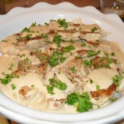 Braised Pork Chops in Sour Cream Sauce recipe