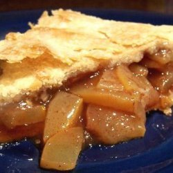 Zucchini Mock Apple Pie recipe