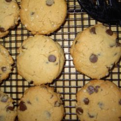 Chocolate Chip Peanut Butter Oat Cookies recipe