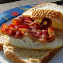 Fried Egg Sandwiches recipe