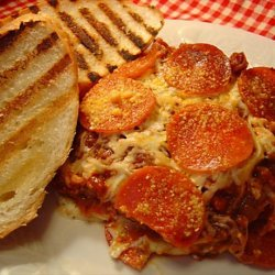 Three Meat Lasagna recipe