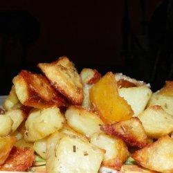 Crunchy Rosemary Potatoes recipe