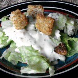 The Realtor's Buttermilk  Garlic Salad Dressing recipe