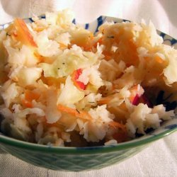 Coleslaw With Apple and Onion recipe