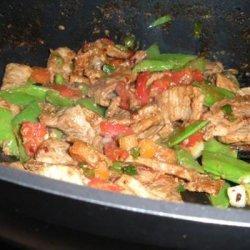 Teriyaki Pork Stir Fry recipe
