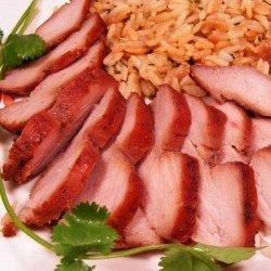 Barbecued Red Roast Pork Tenderloin recipe
