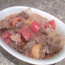 Crispy Sweet and Sour Pork recipe