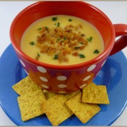 Easy Cheesy Crock Pot Potato Soup (Slow Cooker) recipe