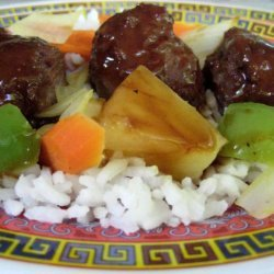 Sweet and Sour Pork Balls recipe
