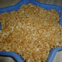 Peanut Butter Rice Krispies Treats recipe