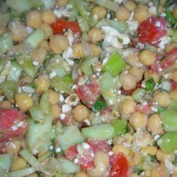 Chickpea Salad With Cumin and Lemon recipe