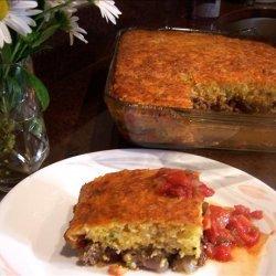 Tamale Pie With Cheddar & Cornmeal Crust recipe