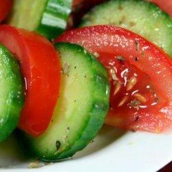 Tomato and Cucumber Salad recipe