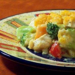 Chicken, Rice, Broccoli & Cheese Casserole recipe