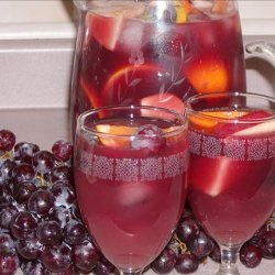 Fruity Sangria With a Kick recipe