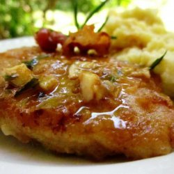 Chicken Cutlets With Bacon, Rosemary and Lemon recipe