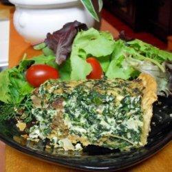 Spinach and Ricotta Tart recipe