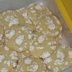 Lemon Luscious Snow Cap Cookies recipe