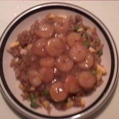 Pork (Chicken, or Shrimp) Fried Rice recipe