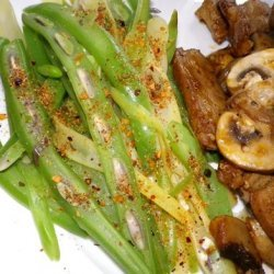 Spicy Asparagus or Green Beans recipe