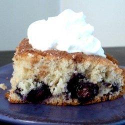 Overnight Blueberry Coffee Cake recipe