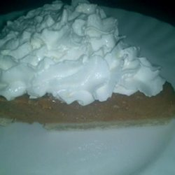 Kahlua Pumpkin Pie recipe
