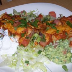 Southwest Black Bean and Corn Enchiladas recipe