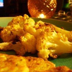 Pan-Roasted Cauliflower With Pine Nuts, Garlic and Rosemary recipe