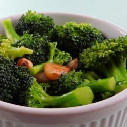 Mexican Roasted Garlic & Broccoli recipe