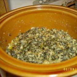 Crock Pot Cheesy Spinach recipe