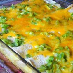 Make-Ahead Sausage and Egg Brunch Enchiladas recipe