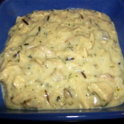 Wild Rice & Chicken Casserole recipe