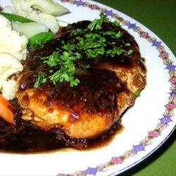 Turkey Cutlets With Balsamic-Brown Sugar Sauce recipe