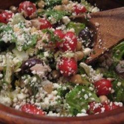 Greek Chicken Salad with Lemon-Herb Dressing recipe