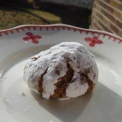 Nutella Crinkle Cookies recipe