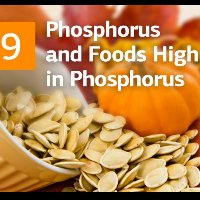 Phosphorus and Foods High in Phosphorus